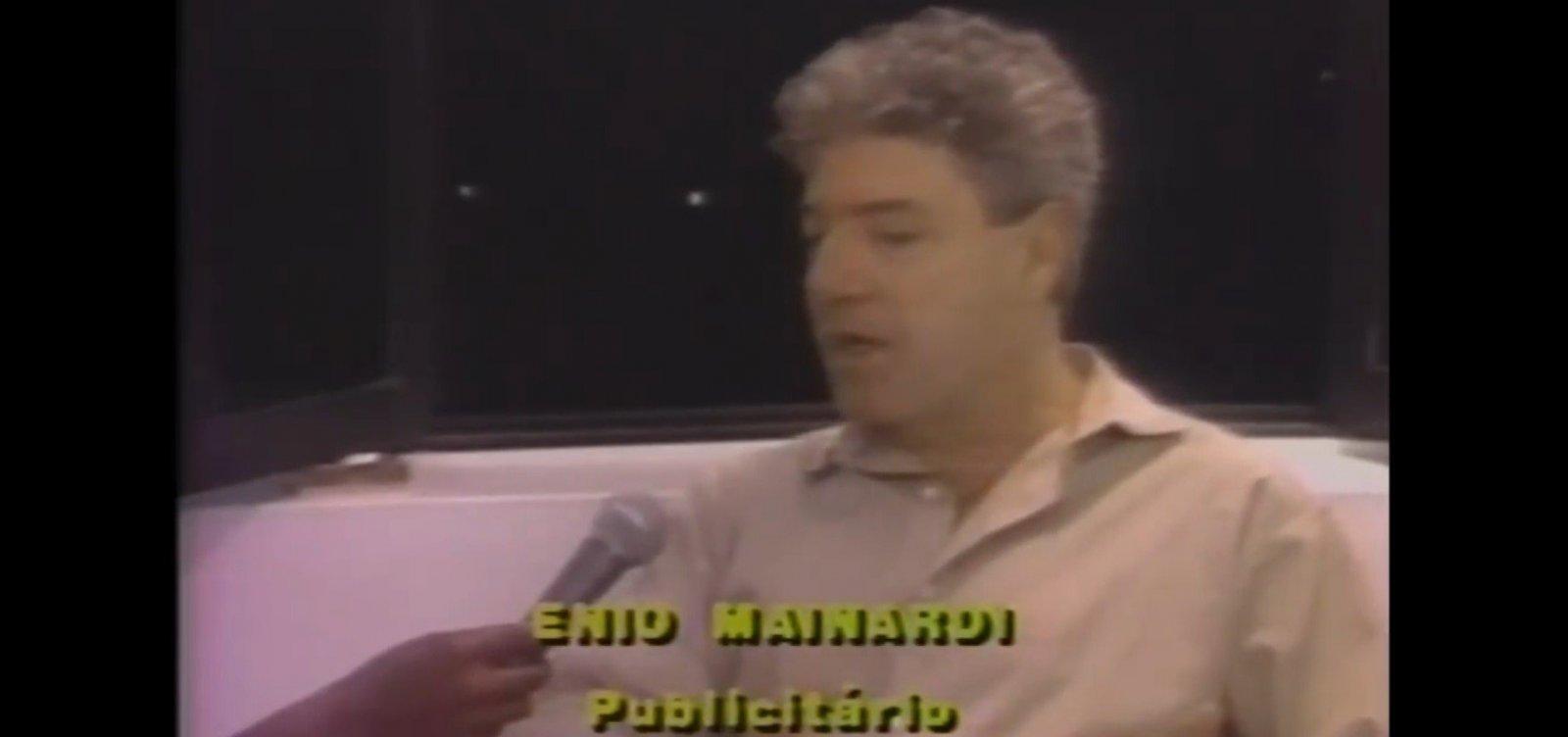 ['Preto desvaloriza o produto anunciado', disse publicitário Ênio Mainardi em 1988]