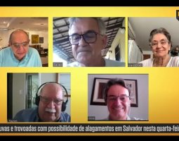 [ Rosa Garcia, Francisco Hora, Maurício Nunes e Osmário Salles]