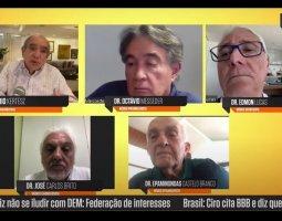 [José Carlos Brito, Edmon Lucas, Octávio Messeder e Epaminondas Castelo Branco]