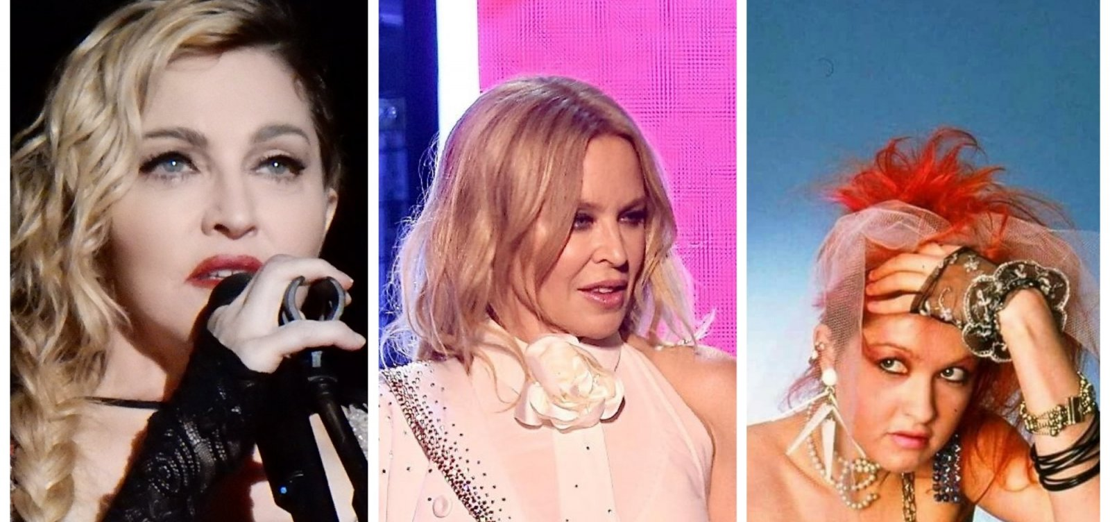 [O 'feat' Madonna, Kylie e Cyndi ]