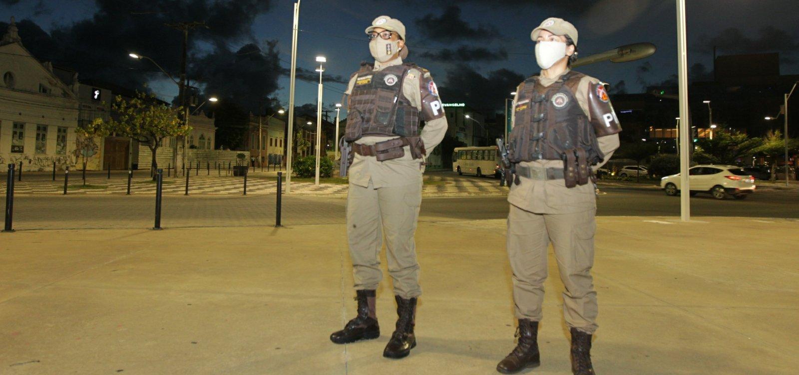 Bahia inicia vacinação contra Covid-19 de policiais e bombeiros nesta quinta  - Metro 1