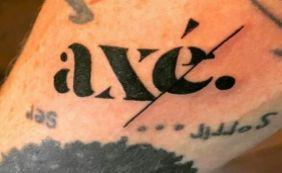 Vídeo Saulo Eterniza Paixão Pelo Axé Com Tatuagem Metro 1