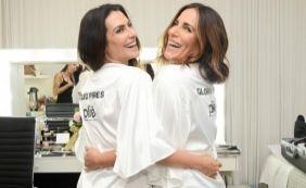 862c0f37c Glória e Cleo Pires posam juntas para ensaio fotográfico de lingerie ...