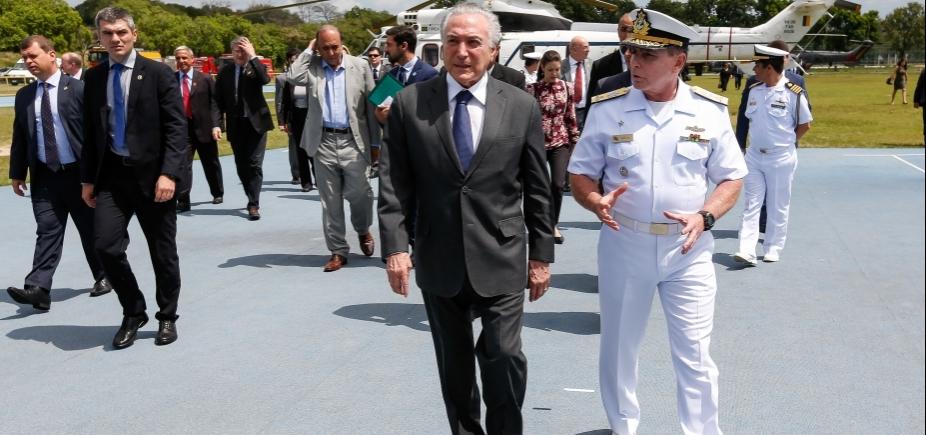 726e720a3 O presidente Michel Temer esteve no Rio de Janeiro nesta segunda-feira  (13), para o lançamento do Programa Emergencial de Ações Sociais para o  Estado e ...
