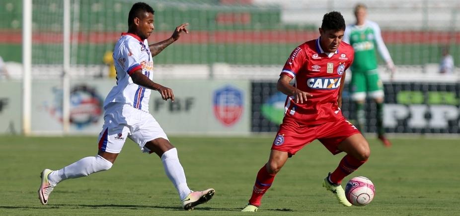 39f4bcb25f786 Bahia volta a jogar mal e perde para o Bahia de Feira por 1 a 0 ...