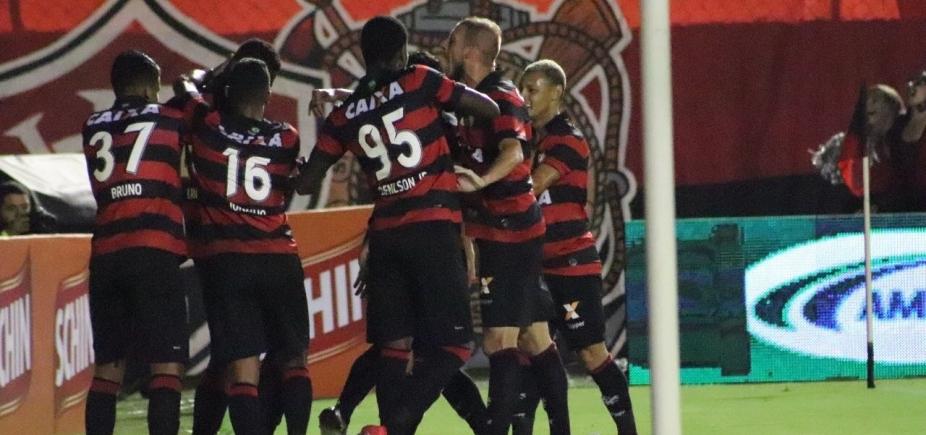 7ec8b05b1 Vitória goleia o Ferroviário por 4 a 1 e volta a vencer no Barradão ...