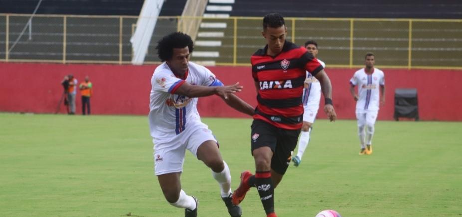 0edaa370a0 Vitória leva a melhor contra o Bahia de Feira no Barradão - Metro 1