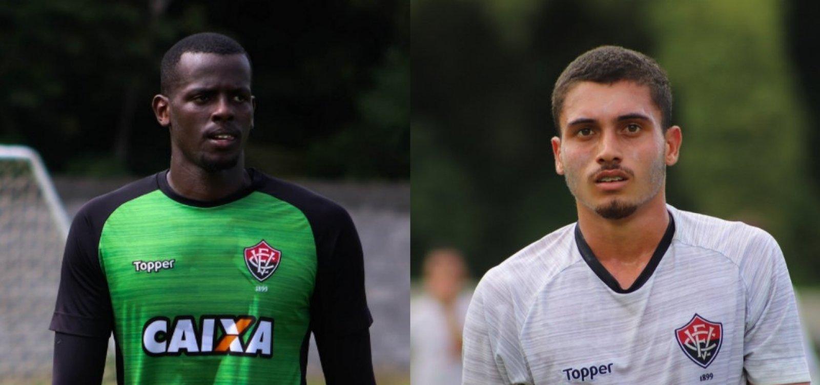 9b030a0a93 Caíque e Luan perdem espaço no Vitória e passam a defender time Sub ...