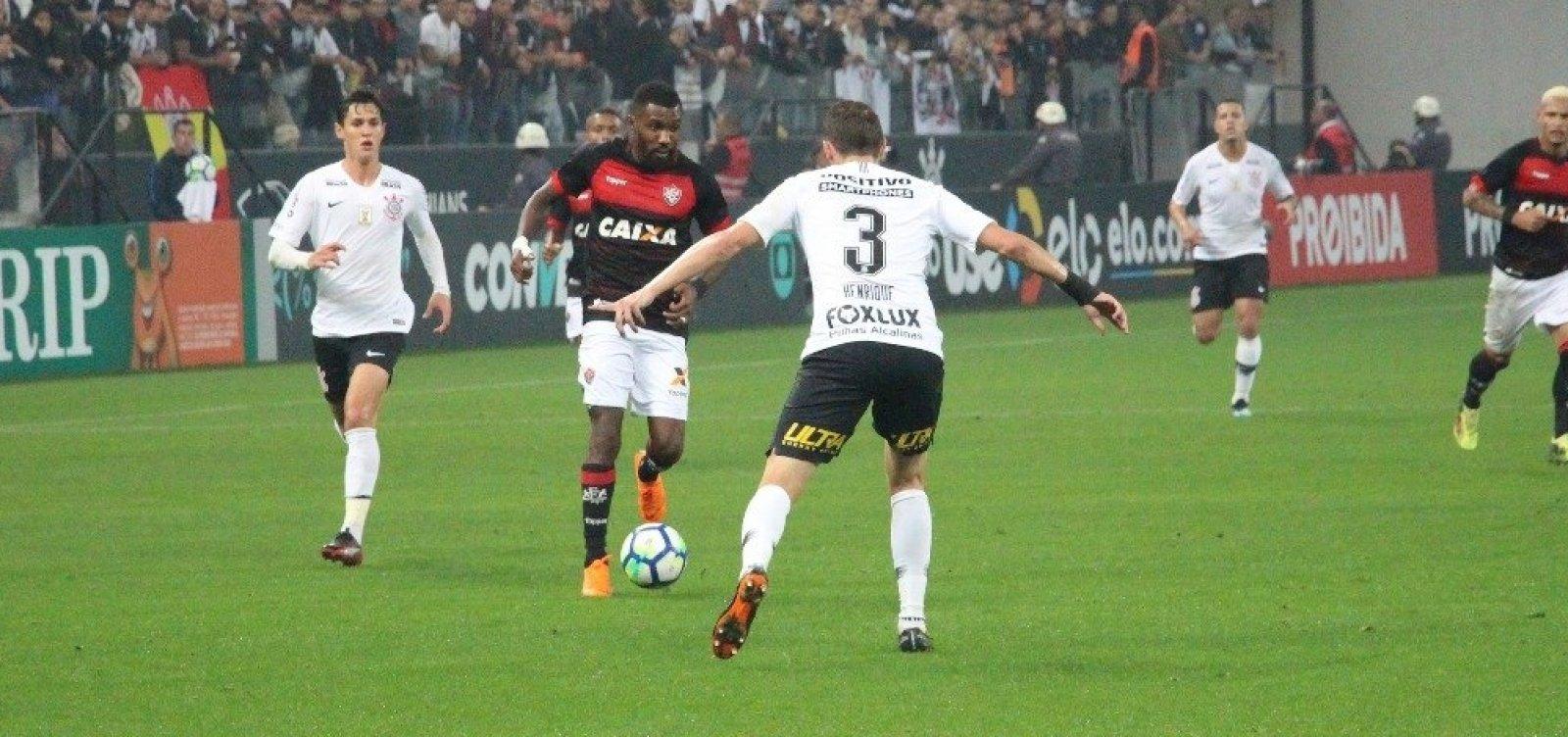 2405f9bba2c90 Vitória empata sem gols com o Corinthians fora de casa - Metro 1