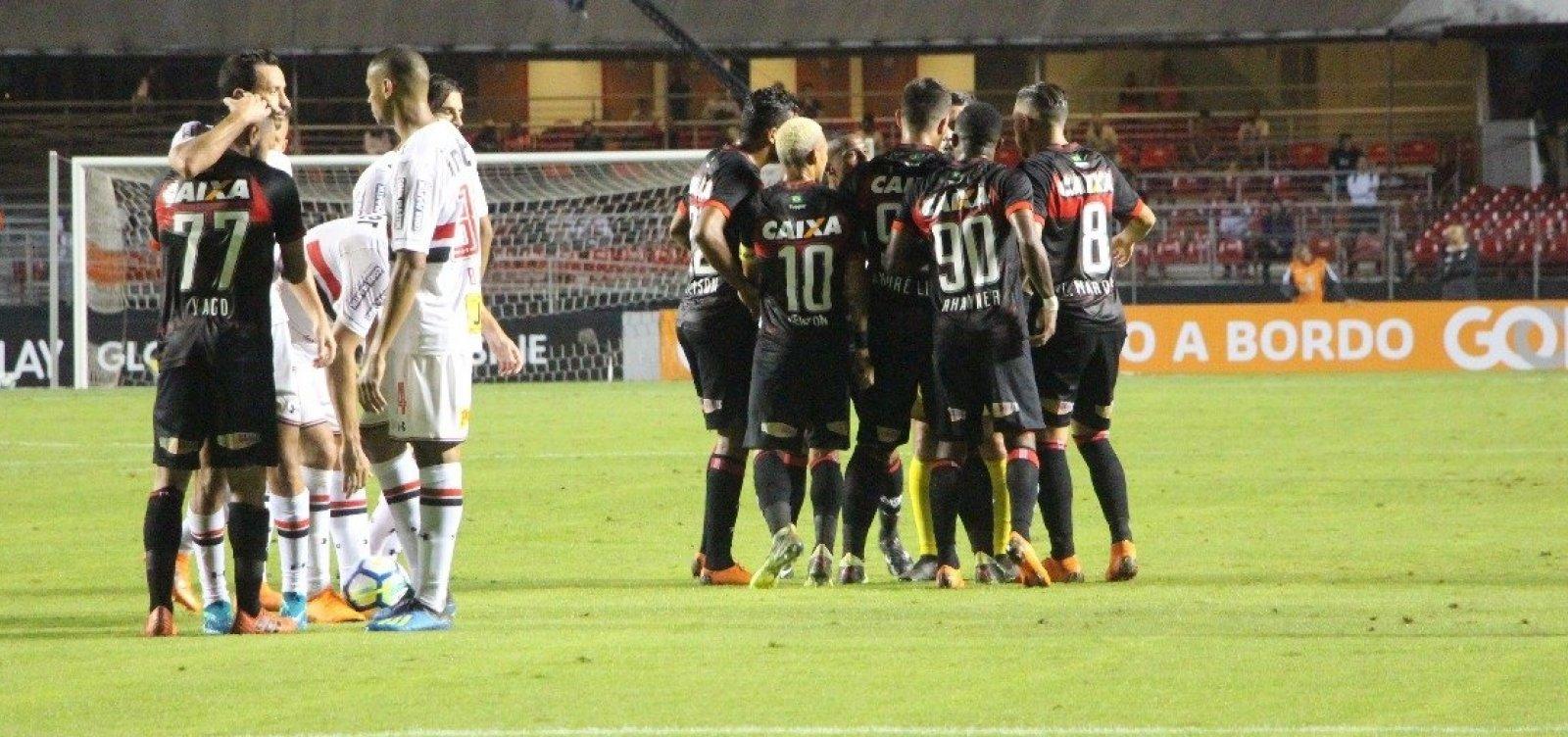 Vitória é derrotado pelo São Paulo por 3 a 0 fora de casa - Metro 1 ad8eb51cb04ff