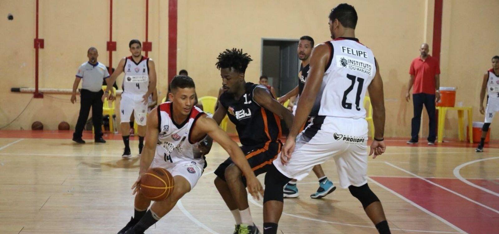 Vitória estreia novo time de basquete no Campeonato Baiano - Metro 1 b39e55c3eed07
