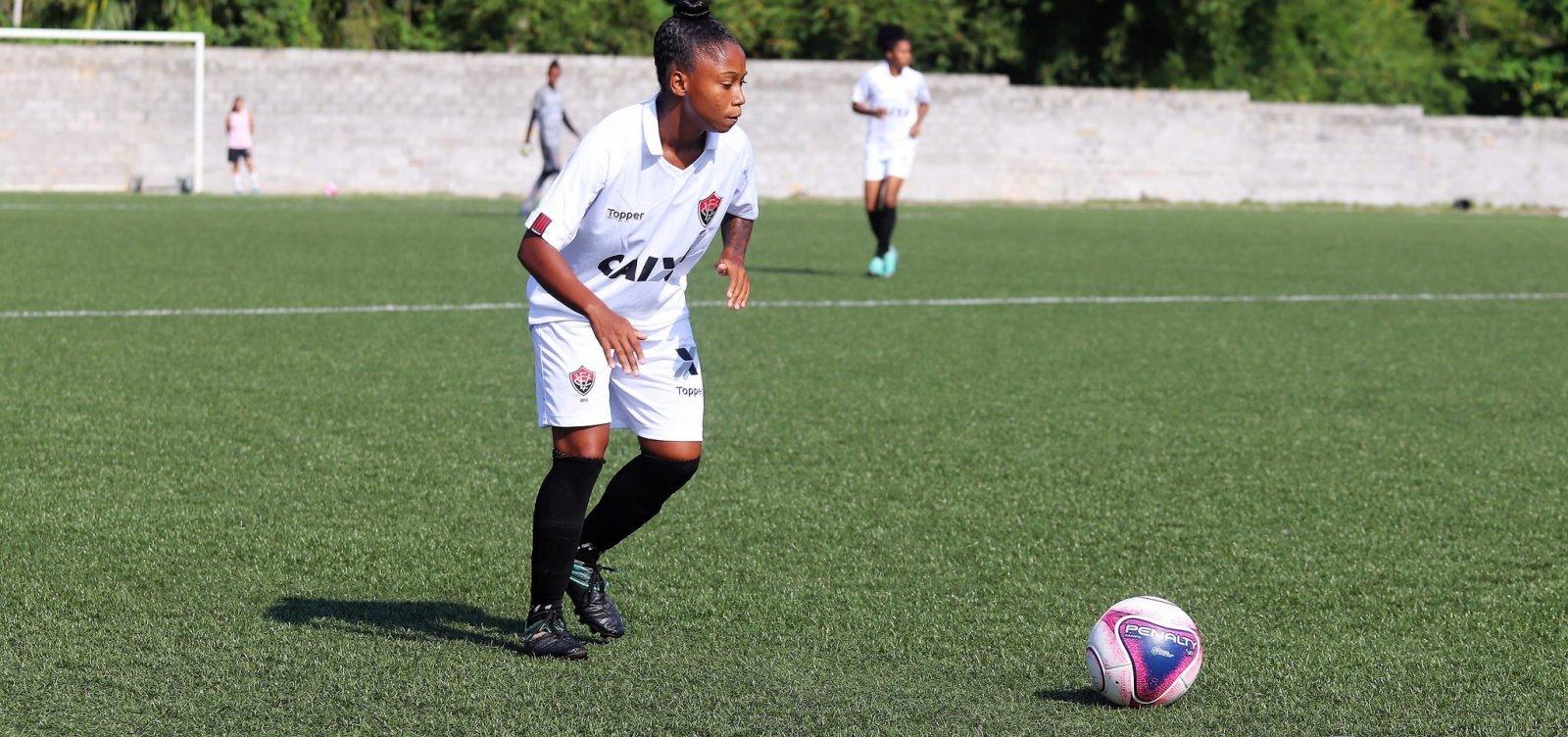 3b2348ba48c20 Baianão Feminino  Vitória e Lusaca se enfrentam na final do torneio ...