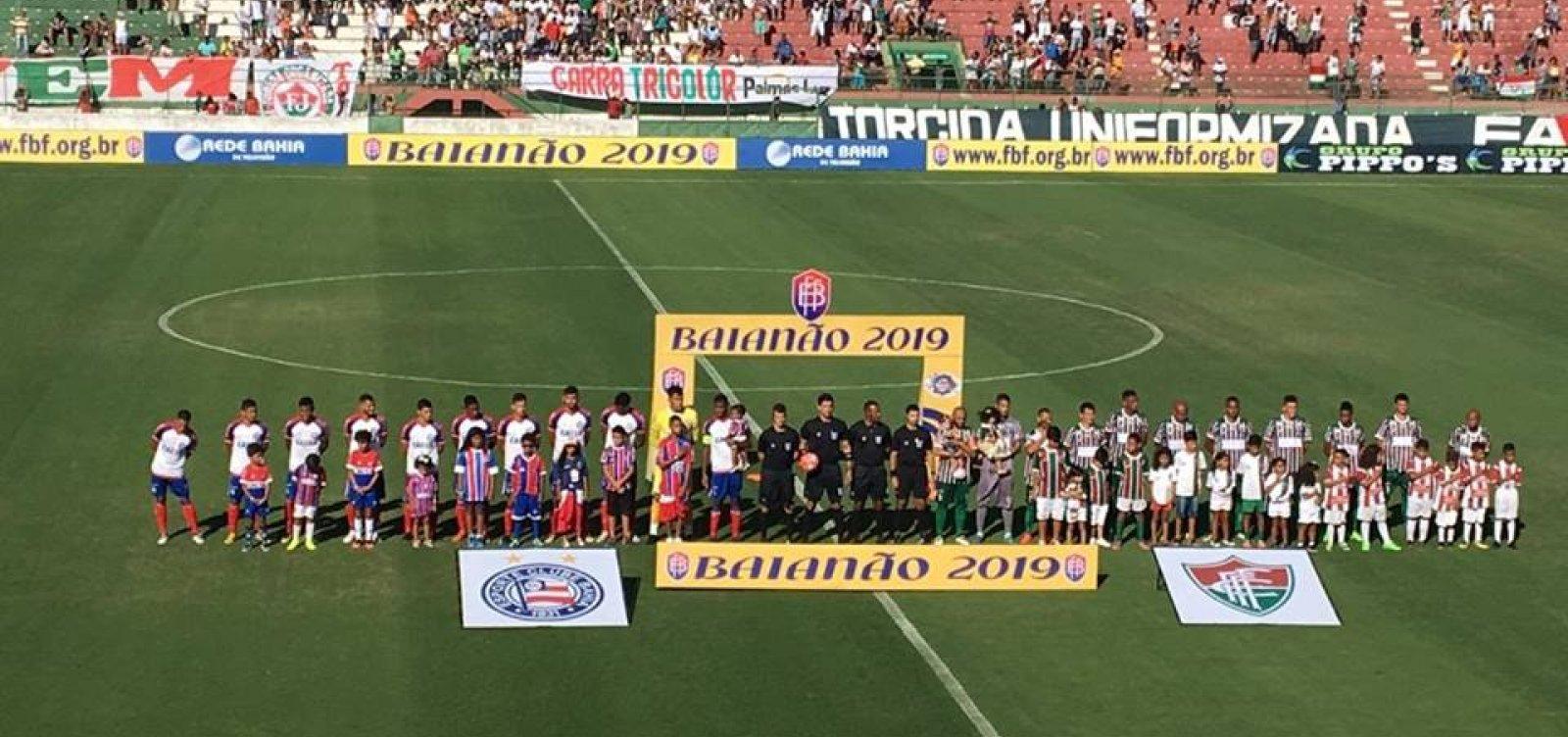 Bahia estreia no Campeonato Baiano 2019 contra o Fluminense de Feira   acompanhe d2b0b5a02e4b0