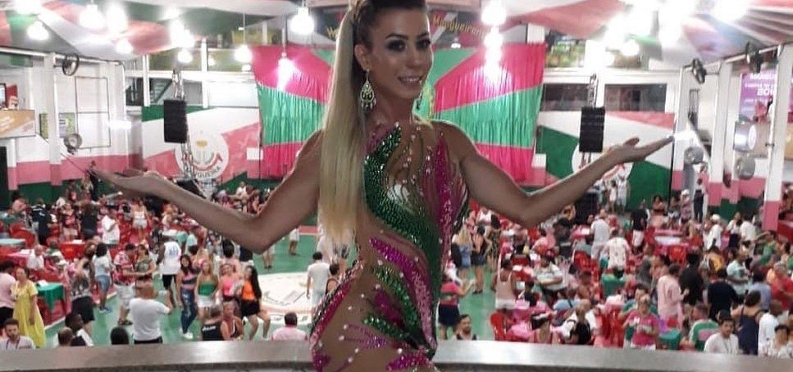 02e362c2e2 Mangueira apresenta primeira musa transexual da escola. Patrícia Souza ...
