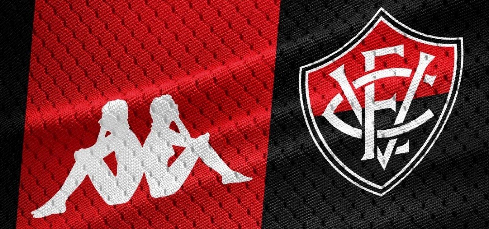 cd1d9d9d54709 Novos uniformes do Vitória serão lançados no fim de junho - Metro 1