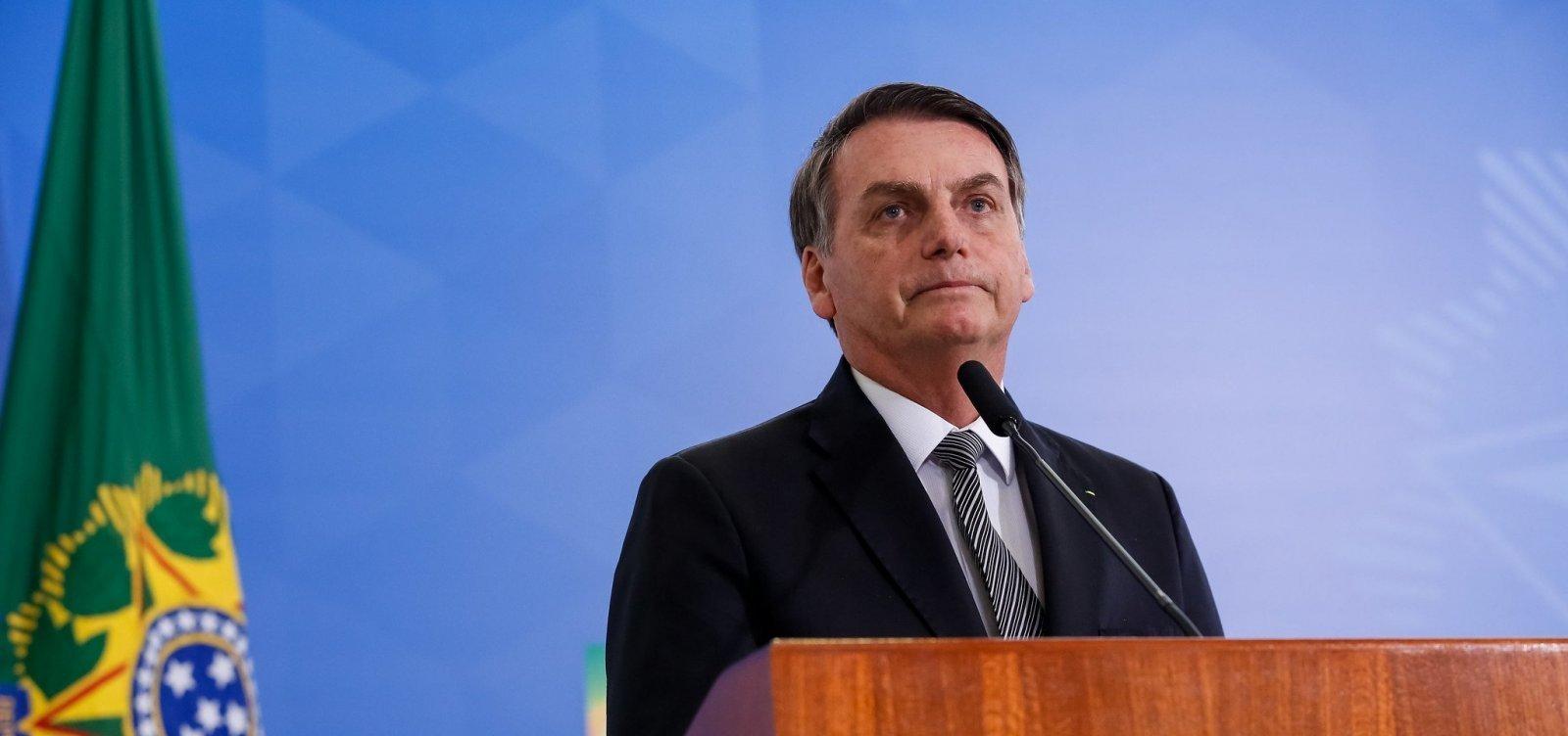 [Bolsonaro diz que Brasil tem questões mais complexas do que problemas raciais]