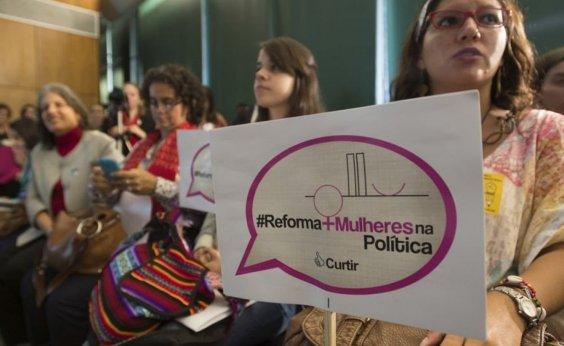 [Eleições 2020: 90 cidades baianas não elegeram mulheres para o legislativo]