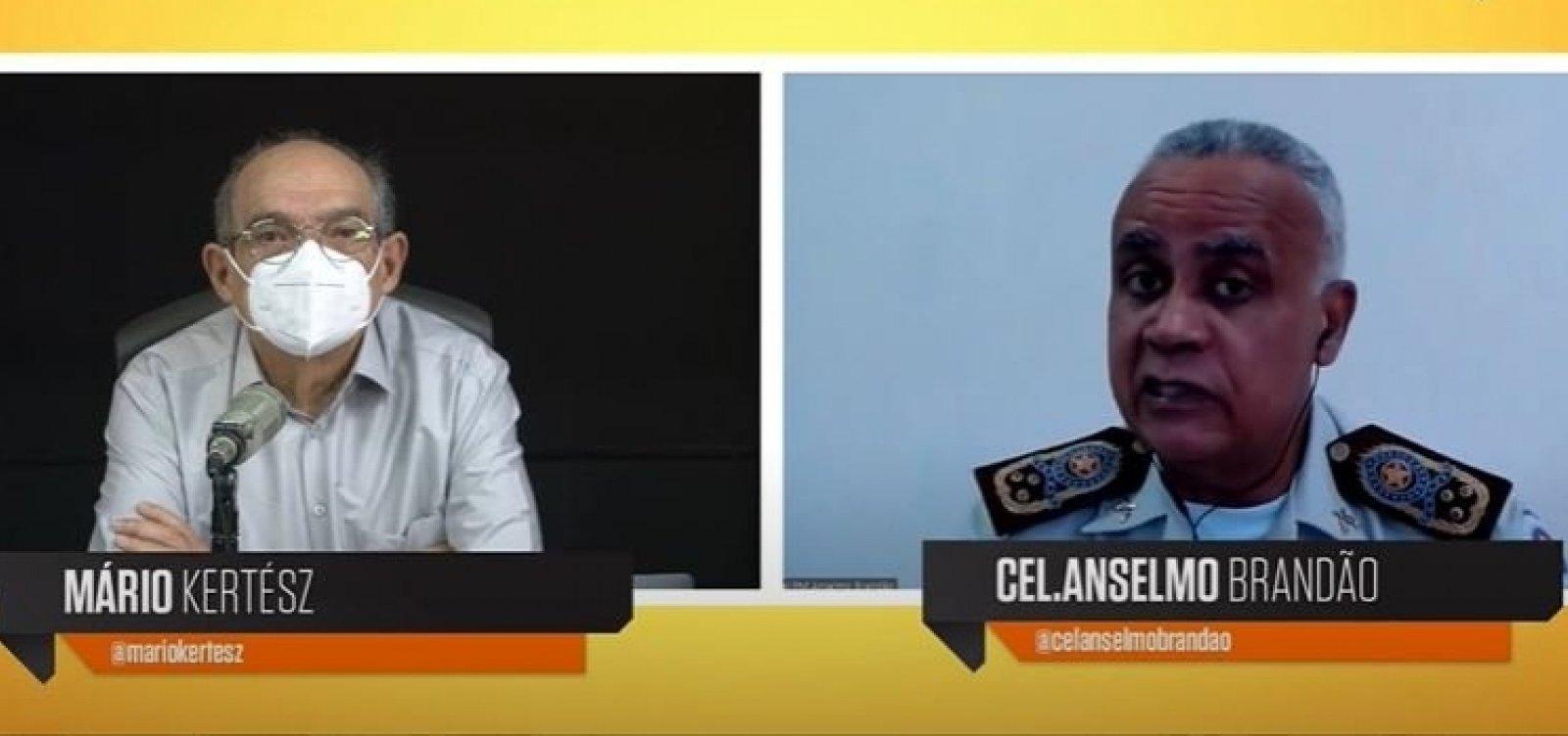 [Comandante da PM nega que tráfico domine áreas em Salvador: 'Entramos em qualquer comunidade']