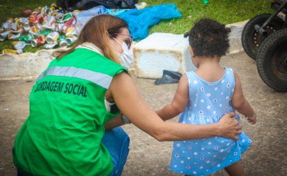 [Programa Liga da Proteção identifica exposição infantil e combate mendicância em Salvador]
