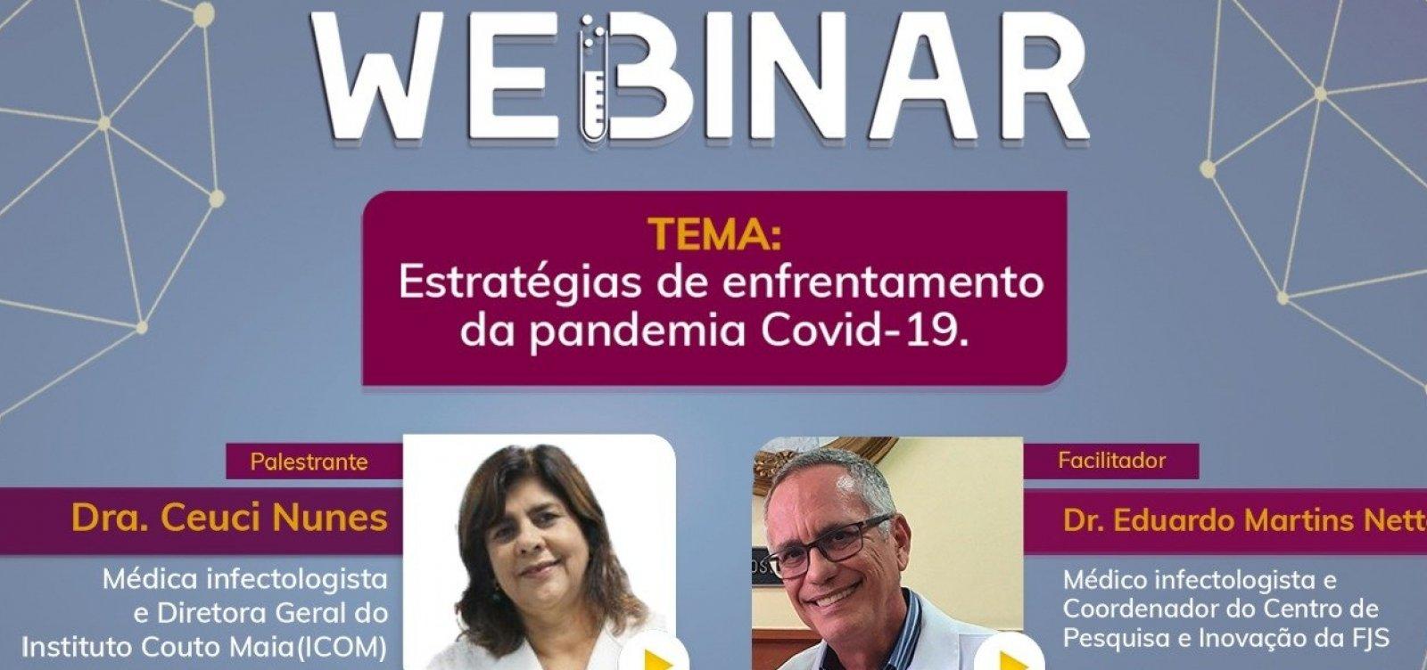 [Fundação José Silveira faz palestra sobre estratégias de enfrentamento da pandemia]