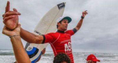 Atleta baiano é campeão brasileiro de Surf Profissional 2015