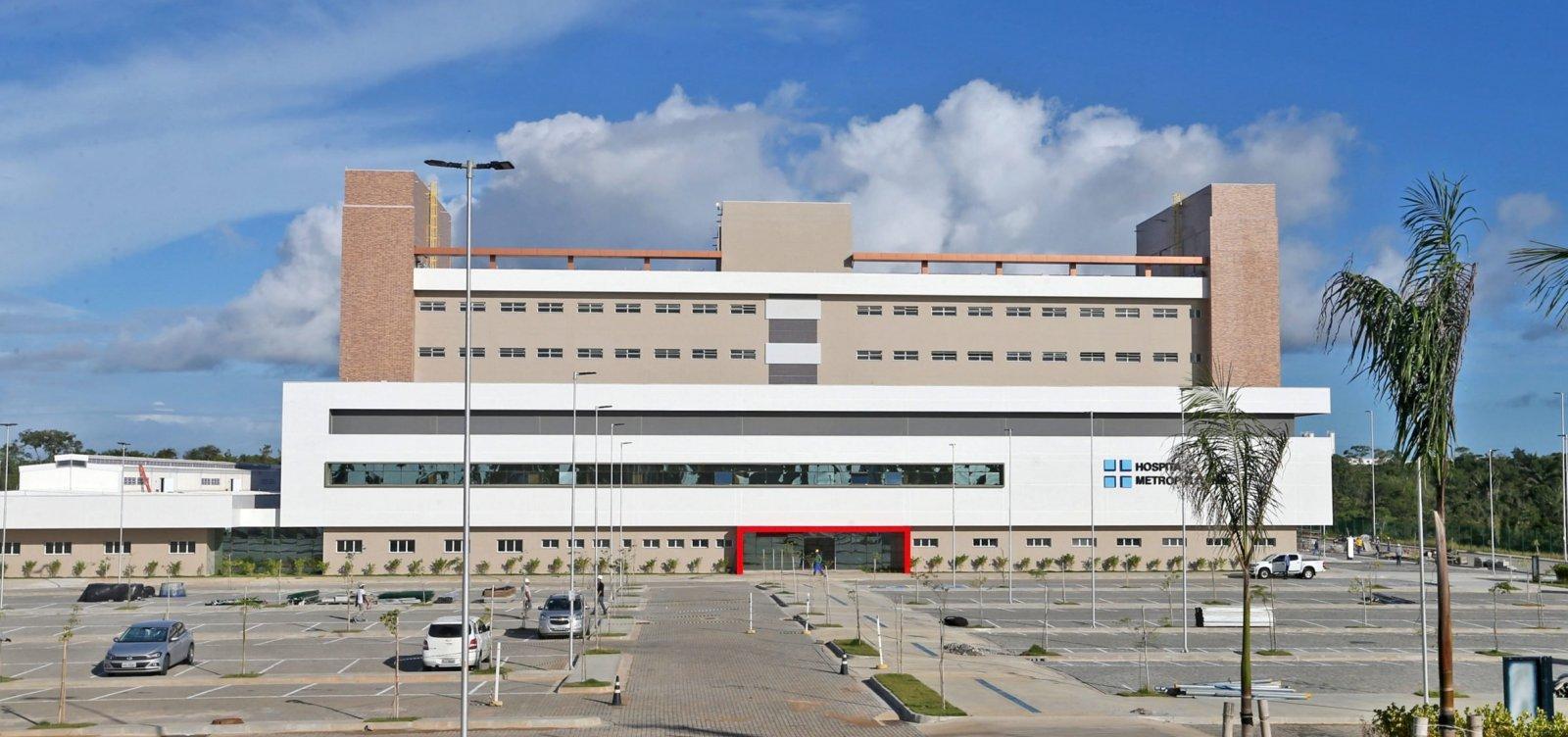 [Governo tenta PPP com Hospital Albert Einsten para gestão do Hospital Metropolitano]