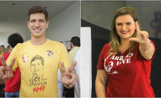 [João Campos vira e atinge 43% das intenções de voto contra 41% de Marília Arraes, diz pesquisa Ibope]