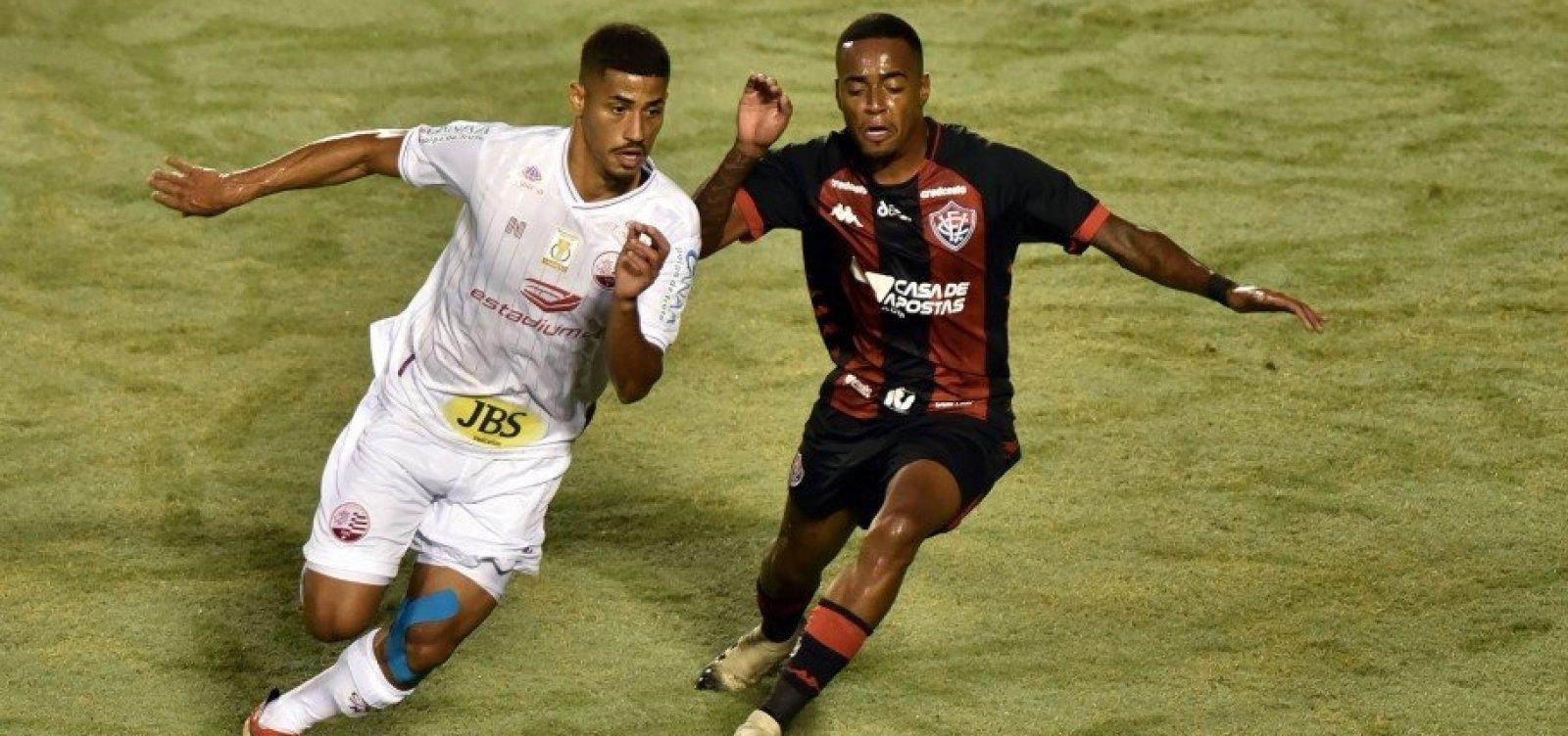 [Contra o Náutico, Vitória amarga segundo empate consecutivo na Série B]