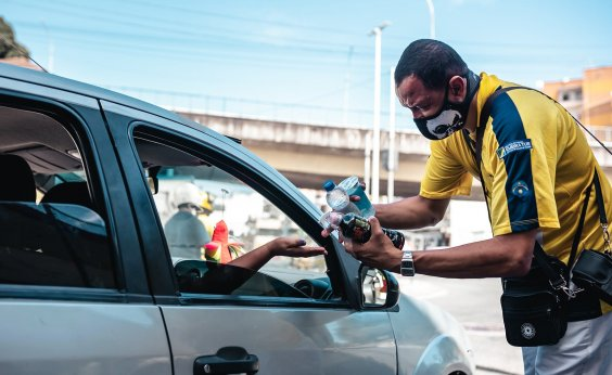 [Gil-engendra: vendedor de água mineral no Aquidabã é exemplo na pandemia]