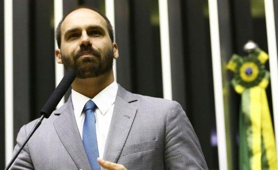 [Itamaraty diz em carta que reação da China a Eduardo Bolsonaro foi ofensiva e desrespeitosa]