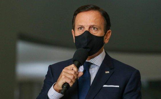 [CoronaVac pode ser aplicada sem registro da Anvisa se tiver aval de outros países, diz governador de SP]