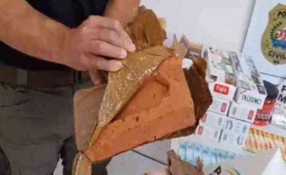 [Homem foi enganado ao comprar maconha e receber tijolos: 'não existe mais traficante honesto hoje em dia']