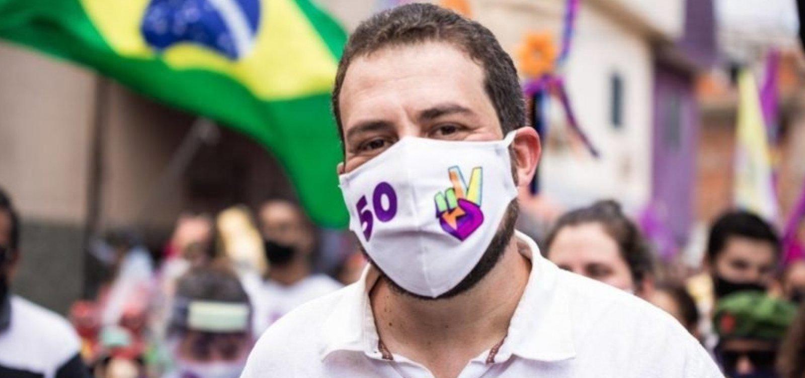 [Candidato à Prefeitura de São Paulo, Boulos é diagnosticado com Covid-19 ]