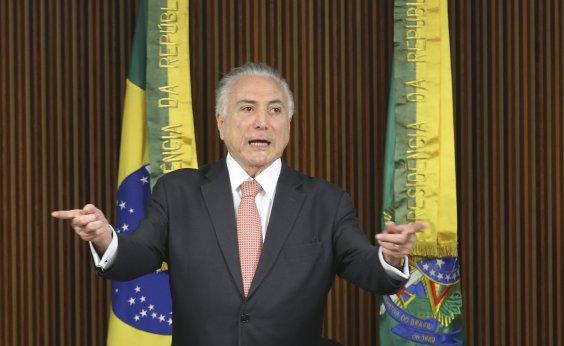 [Michel Temer vota em São Paulo e diz acreditar em reeleição de Covas]