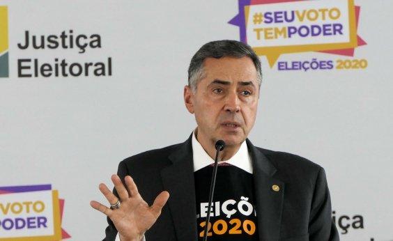 [Presidente do TSE avalia positivamente as eleições municipais e ratifica segurança do sistema eleitoral]