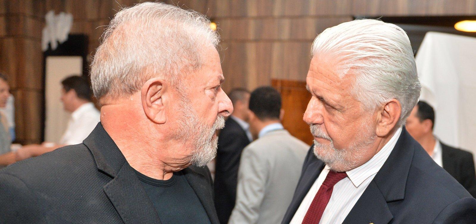[Wagner defende renovação no PT e alfineta Lula: 'Não vou ficar refém dele']