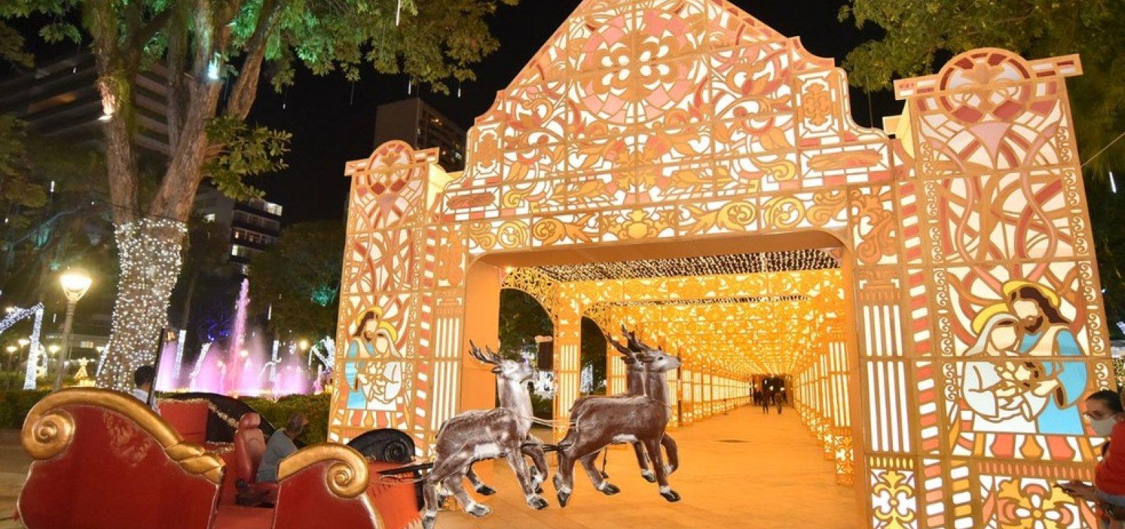 [Decoração de natal no Campo Grande só poderá ser visitado através de agendamento]