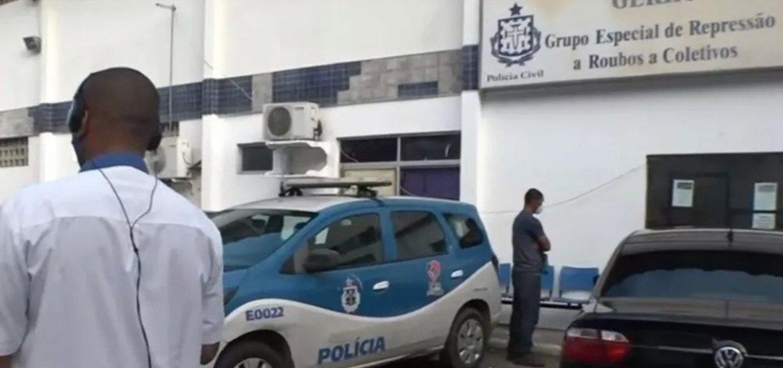[Salvador registra três assaltos a ônibus na manhã desta terça-feira]