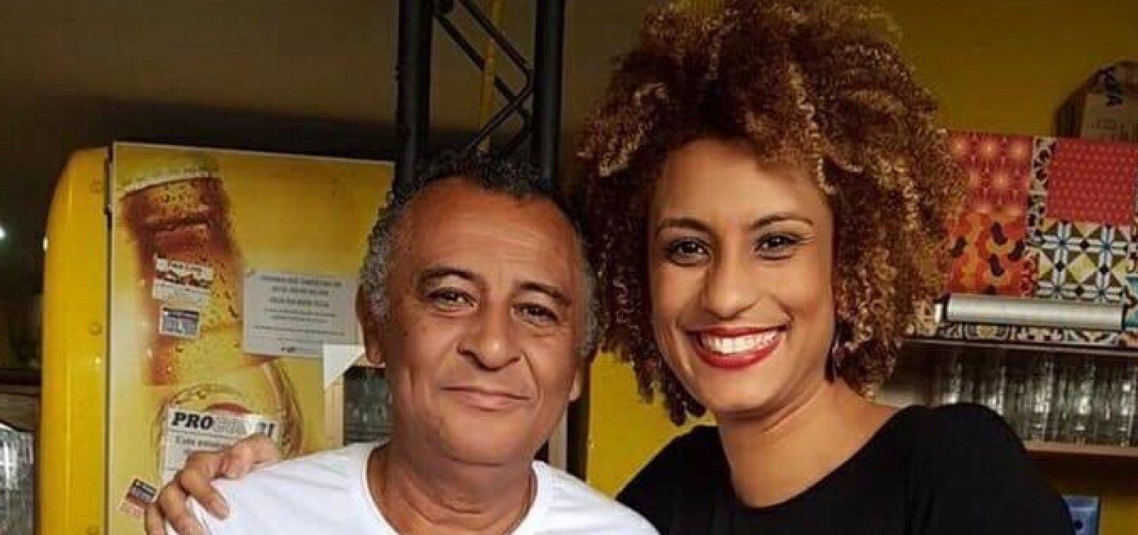 [Pai de Marielle Franco é internado com Covid-19 no Rio ]
