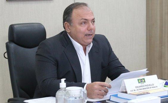 [Ministério da Saúde divulga plano prévio de imunização nacional]