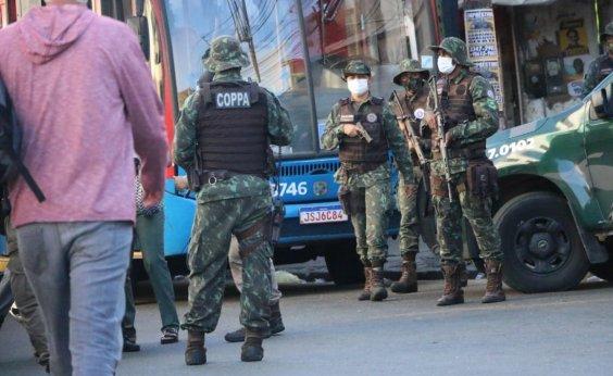 [Suspeitos de tráfico de drogas morrem em confronto com PM no Nordeste de Amaralina]