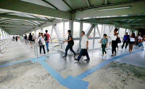 [Perseguição policial assusta usuários do Metrô entre estações da Rodoviária e Pernambués]
