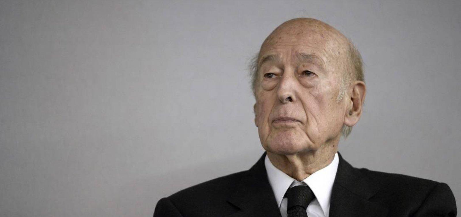[Aos 94 anos, ex-presidente da França Valéry Giscard d'Estaing morre de Covid-19]