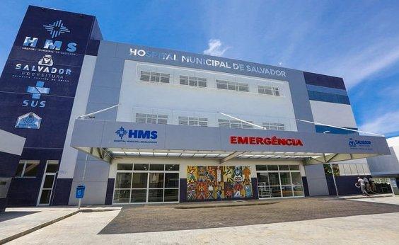 [Hospital Municipal de Salvador reabre 20 leitos para covid-19]