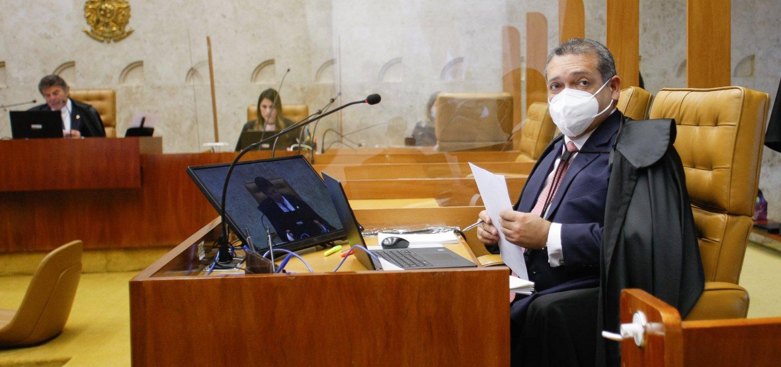 [STF inicia julgamento de reeleição de Davi Alcolumbre e Rodrigo Maia]