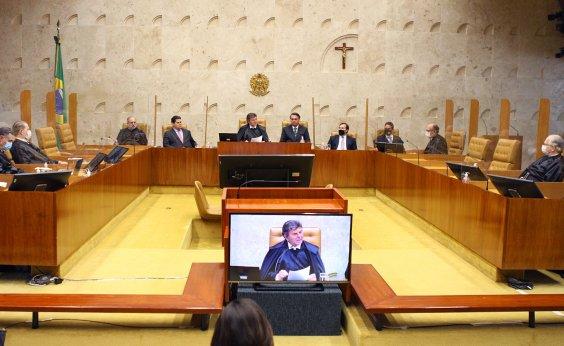 [STF tem 4 votos a favor da reeleição de Alcolumbre e Maia no Senado e Câmara]