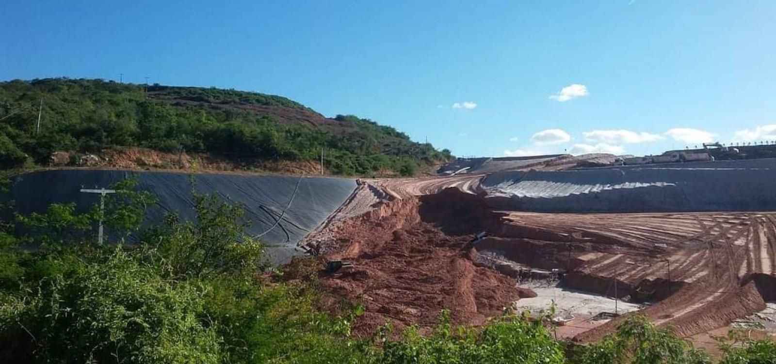 [MP-BA recomenda que empresa apresente modelo de rompimento de parte interna de barragem em Jacobina]