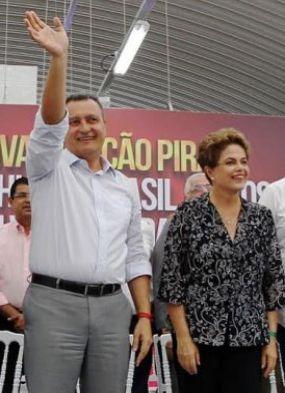 Em inauguração de nova estação, Rui agradece o que Dilma tem feito pela Bahia