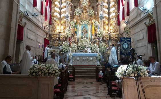 [Secretaria de Turismo anuncia reativação de sinos da Igreja da Conceição da Praia]