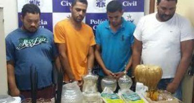 Polícia desarticula quadrilha especializada em roubo de carga em Rio Real